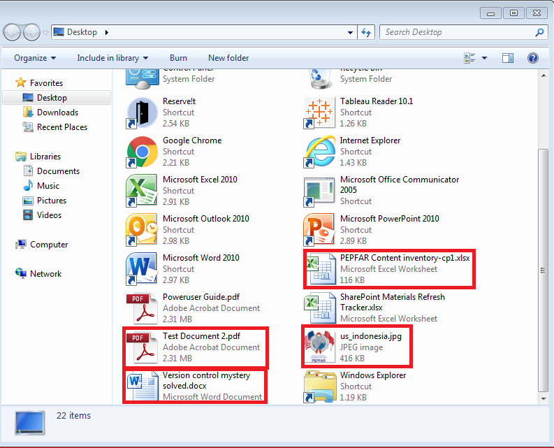How do I download multiple files? – PEPFAR SharePoint